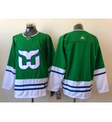 Men Hartford Whalers Blank Adidas 2020 21 Reverse Retro Alternate NHL Jersey