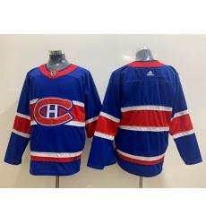 Montreal Canadiens Blank Blue 2020 21 Reverse Retro Ad