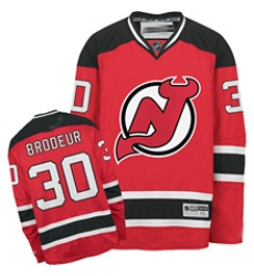 New Jersey Devils #30 Brodeur Red Hockey Jersey