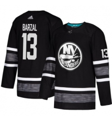 Youth Islanders #13 Mathew Barzal Black 2019 All Star Stitched Hockey Jersey