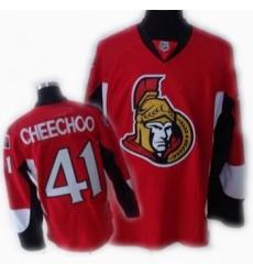 Cheap Ottawa Senators 41 CHEECHOO red Jersey