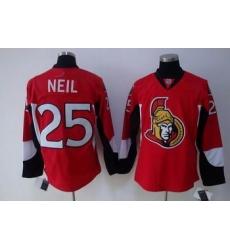 Cheap Ottawa Senators jerseys 25 NEIL red Jersey