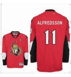 Ottawa Senators #11 ALFREDSSON red jerseys