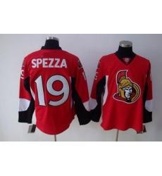Ottawa Senators 19 SPEZZA red Jerseys