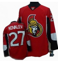 Ottawa Senators #27 KOVALEV red Jersey