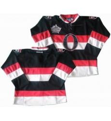 Ottawa Senators blank black All star jerseys