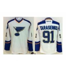 NHL St.Louis Blues 91 Vladimir Tarasenko White Jersey