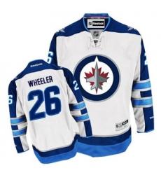 2012 new Winnipeg Jets #26 Blake Wheeler white Jersey