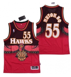 Anta Hawks 55 Dikembe Mutombo Jerseys