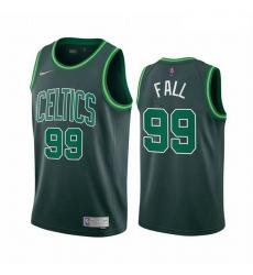 Men Boston Celtics 99 Tacko Fall Green NBA Swingman 2020 21 Earned Edition Jersey