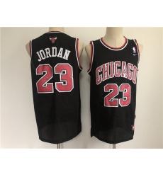 Men Chicago Bulls 23 Jordan Black Throwback 2021 Nike NBA Jersey