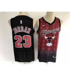 Men's Chicago Bulls #23 Michael Jordan Salute To Service Basketbal Jersey