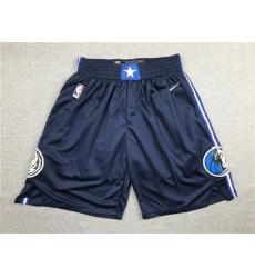 Mavericks Navy Nike Shorts