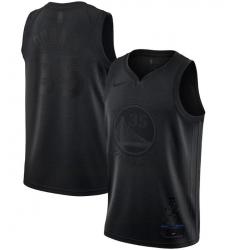Men's Golden State Warriors Kevin Durant Nike Black MVP Swingman Jersey