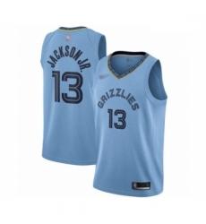 Grizzlies 13 Jaren Jackson Jr  Light Blue Basketball Swingman Statement Edition Jersey