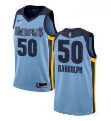 Womens Nike Memphis Grizzlies 50 Zach Randolph Swingman Light Blue NBA Jersey Statement Edition