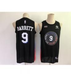Men's New York Knicks #9 RJ Barrett Black Nike City Player Jersey