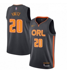 Magic 20 Markelle Fultz Charcoal Basketball Swingman City Edition 2019 20 Jersey