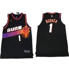 Men Devin Booker Phoenix Suns throwback jersey black