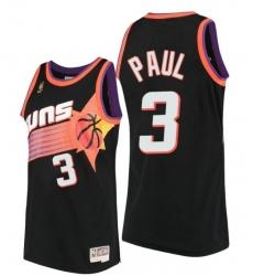 Phoenix Suns Chris Paul Hardwood Classics Black Throwback 90s Jersey
