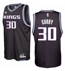Sacramento Kings 30 Seth Curry 2016 17 Seasons Black Alternate New Swingman Jersey
