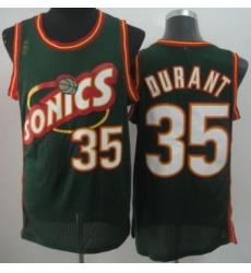 Seattle Supersonic 35 Kevin Durant Green Revolution 30 NBA Basketball Jerseys-2