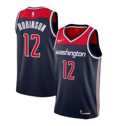 Men Nike Washington Wizards 12 Jerome Robinson Navy Blue NBA Swingman Statement Edition Jersey