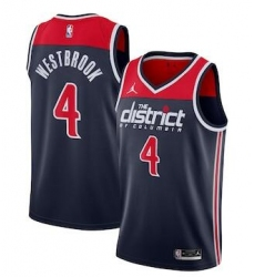Men Washington Wizards Russell Westbrook Nike Red Jordan Brand 2020-21 Swingman Jersey