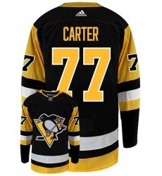 Men Pittsburgh Penguins 77 Jeff Carter 2021 Black Jersey