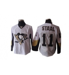 Pittsburgh Penguins 11 J.Staal White jerseys