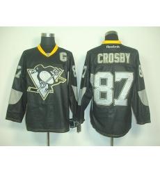 RBK hockey jerseys,Pittsburgh Penguins 87# S.Crosby black new