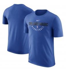 Men Orlando Magic Nike Practice Performance T Shirt Blue