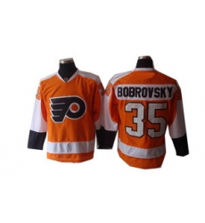 Philadelphia Flyers 35 bobroysky yellow Jerseys