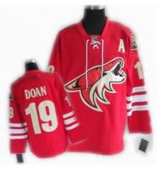cheap Phoenix Coyotes jersey #19 DOAN jersey red