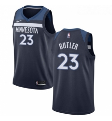 Womens Nike Minnesota Timberwolves 23 Jimmy Butler Swingman Navy Blue Road NBA Jersey Icon Edition