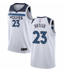 Womens Nike Minnesota Timberwolves 23 Jimmy Butler Swingman White NBA Jersey Association Edition