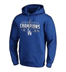 Men Los Angeles Dodgers 2020 World Series Champions Locker Room Big  26 Tall Pullover Hoodie Royal