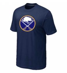 NHL Men Buffalo Sabres Big Tall Logo T Shirt Navy