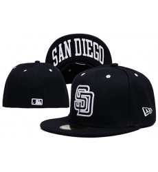 San Diego Padres Fitted Cap 004