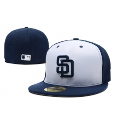 San Diego Padres Fitted Cap 006