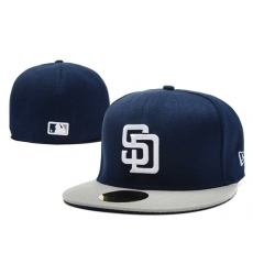 San Diego Padres Fitted Cap 007