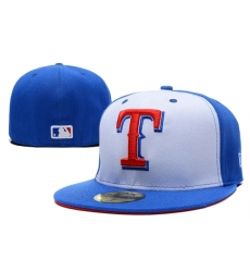 Texas Rangers Fitted Cap 005