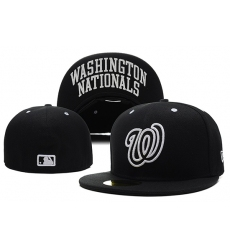 Washington Nationals Fitted Cap 001