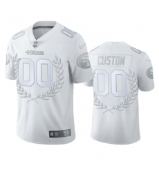 Men Women Youth Toddler San Francisco 49ers Custom Men 27 Nike Platinum NFL MVP Limited Edition Jersey