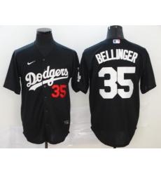 Men Women Youth Toddler All Size Los Angeles Dodgers Black Flex Base Custom Jersey