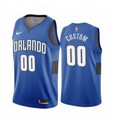 Men Women Youth Toddler All Size Orlando Magic Custom Blue 2019 20 Statement Edition NBA Jersey