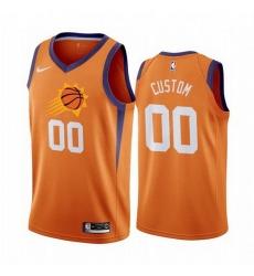Men Women Youth Toddler All Size Phoenix Suns Custom Orange 2019 20 Statement Edition NBA Jersey