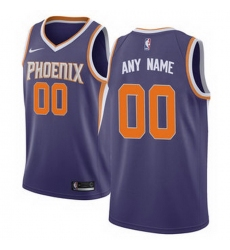Men Women Youth Toddler All Size Phoenix Suns Nike Purple Swingman Custom Icon Edition Jersey