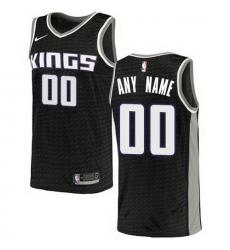 Men Women Youth Toddler All Size Sacramento Kings Nike Black Swingman Custom City Edition Jersey