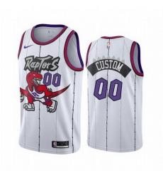 Men Women Youth Toddler All Size Toronto Raptors Custom White 2019 20 Hardwood Classic Edition Stitched NBA Jersey